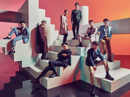 韓国ボーイズグループ「EXO」が日本のチャート1位を独占している。(提供:OSEN)