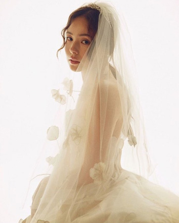 """SOL(BIGBANG)と結婚""女優ミン・ヒョリン、SNSで心境語る「「感謝し、また感謝している」(提供:OSEN)"
