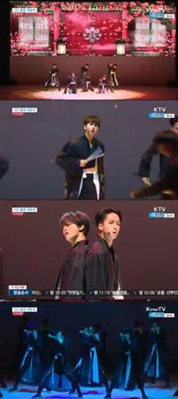 韓国ボーイズグループ「VIXX」が、K-POPを代表するグループとして韓国の趣と音楽を伝えた。(提供:OSEN)