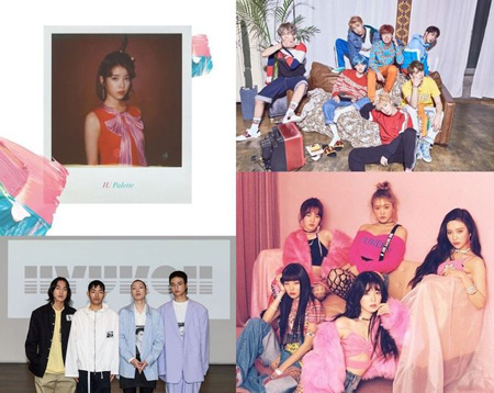 IU&「防弾少年団」&「hyukoh」ら、「韓国大衆音楽賞」にノミネート! (提供:OSEN)