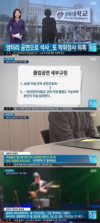 """韓国有名アイドルグループの元メンバーが、""""偽公演""""で慶煕(キョンヒ)大学の大学院で修士学位を取得したという疑惑が報じられた。(提供:OSEN)"""