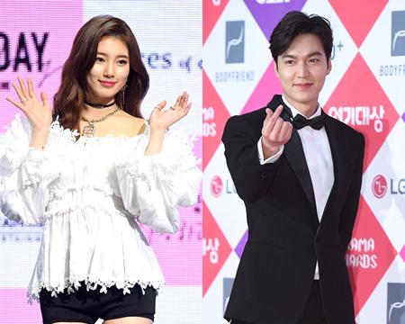 韓国俳優イ・ミンホとガールズグループ「Miss A」出身のスジの双方が復縁説を否定した。(提供:OSEN)