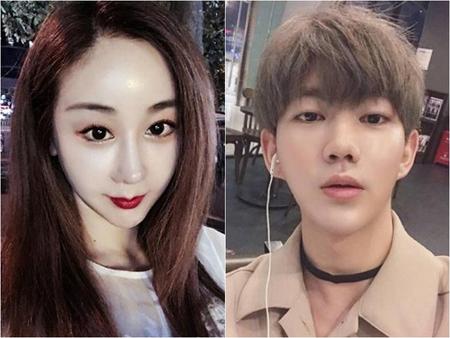 18歳差の中韓カップルが誕生。韓国女優ハム・ソウォン(41)と中国SNSスターのジンファが夫婦となった。(提供:news1)