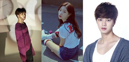 韓国SBS「人気歌謡」の新MCにアイドルグループ「SEVENTEEN」ミンギュ、ガールズグループ「DIA」チョン・チェヨン、俳優ソン・ガンが抜てきされた。(提供:OSEN)