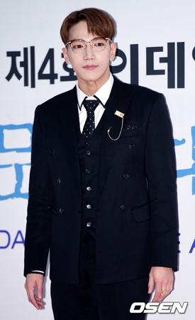 韓国ボーイズグループ「2PM」メンバーのJun.K(30)が飲酒運転をして警察に摘発されたことを認め、謝罪コメントを発表した。(提供:OSEN)
