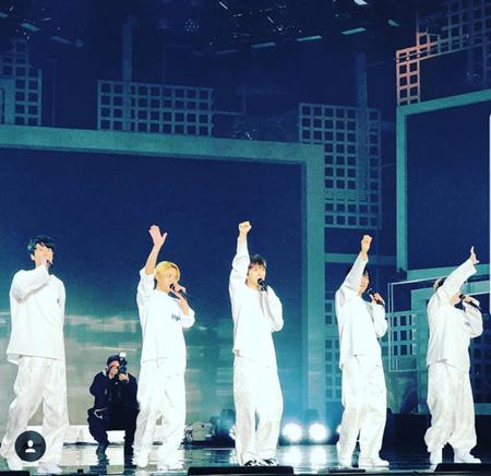 韓国歌手トニー・アン(39)が17年ぶりとなる「H.O.T.」完全体ステージの感想を伝えた。(提供:OSEN)
