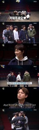 韓国MBCのバラエティ番組「無限挑戦」に、ボーイズグループ「H.O.T.」メンバー全員が集まった。(提供:OSEN)
