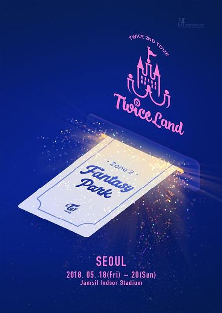 【公式】「TWICE」、2度目の単独ツアーを開催=5月「Fantasy Park」(提供:OSEN)