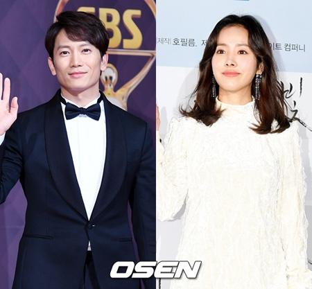 俳優チソン&女優ハン・ジミン、tvN「知ってるワイフ」に出演確定=夫婦役(提供:OSEN)