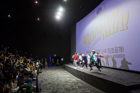 新曲発表を控えている韓国ボーイズグループ「SF9」が、サプライズイベントで劇場を熱くした。(提供:OSEN)