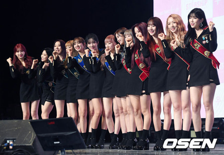 韓国ガールズグループ「宇宙少女」が8か月ぶりのカムバックに「1位を夢見る気持ちで一生懸命に準備した」と伝えた。
