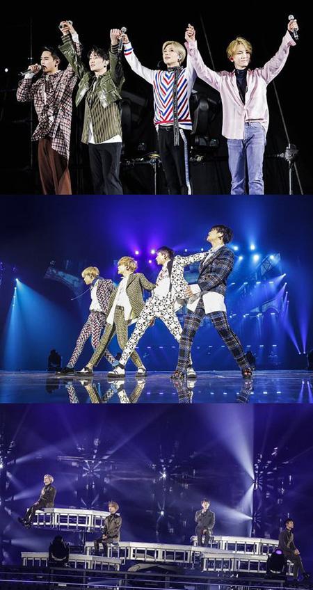「SHINee」、4年連続での日本ドームコンサートで18万人を動員 「ジョンヒョンと一緒に…」(提供:OSEN)