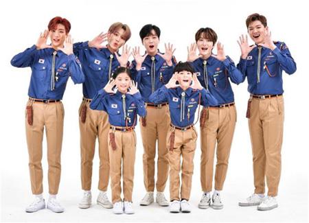 アイドルグループ「B.I.G」が昨年に続き、韓国青少年連盟の2018年広報大使に任命された。(提供:OSEN)