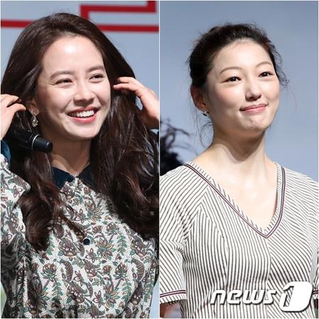 韓国女優ソン・ジヒョ(36)が共演者イ・エル(35)の魅力を語った。