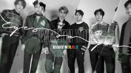「GOT7」がカムバックを翌日に控え、ニューアルバム「Eyes On You」全曲のハイライト音源を収めたスポイラー映像を公開した。(提供:OSEN)