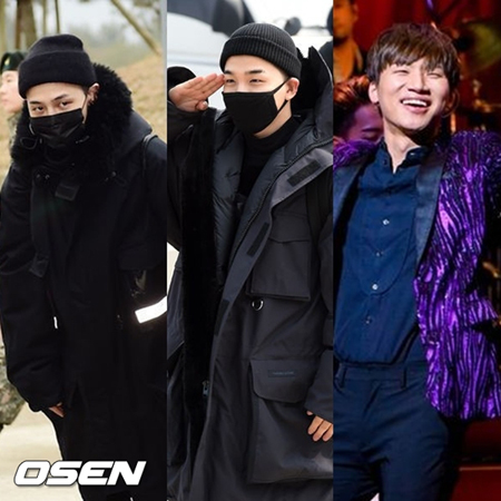 韓国ボーイズグループ「BIGBANG」の3人のメンバーが相次いで入隊を決定した。(提供:OSEN)