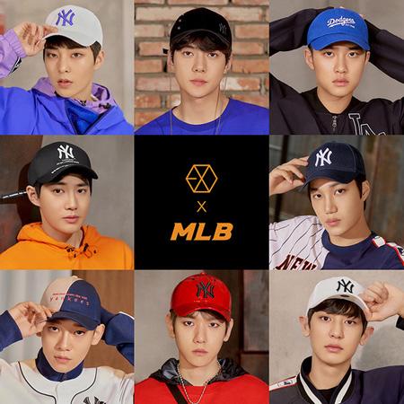 「EXO」、スポーツカジュアルブランド「MLB」のモデルに抜てき(提供:news1)