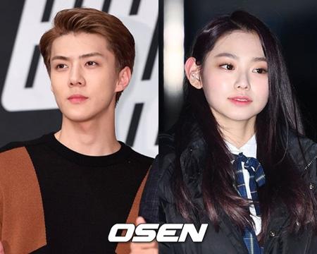 「EXO」SEHUN&「gugudan」ミナ、ウェブムービーで共演へ(提供:OSEN)