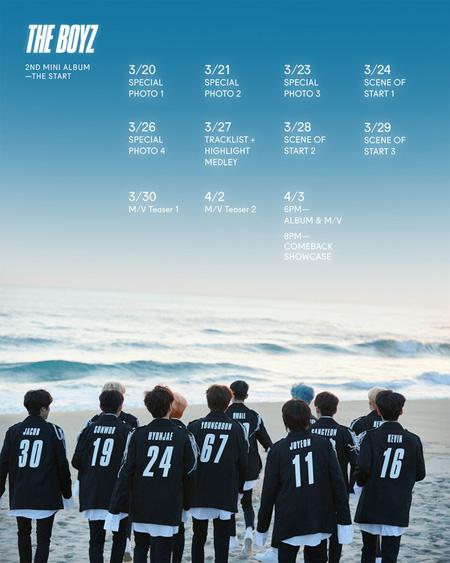 韓国アイドルグループ「THE BOYZ」が新曲「Giddy up」でカムバックする。(提供:news1)