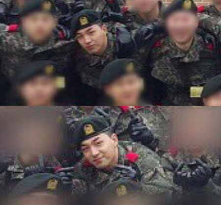 「BIGBANG」SOL、元気な姿で軍生活を送る姿公開(提供:OSEN)