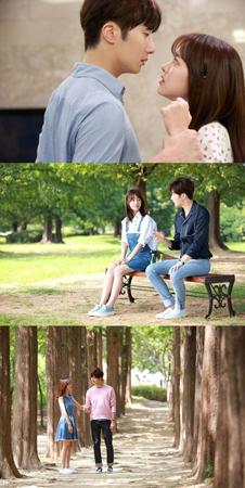 韓国俳優チョン・イルと女優チン・セヨンが主演の人気ウェブドラマ「ステキな片想い」が総合編成チャンネルMBNで放送されることになった。(提供:OSEN)