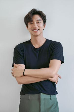"""ユニセフ韓国委員会特別代表の俳優コン・ユが、""""ユニセフチーム""""キャンペーンへの参加をアピールした。(提供:OSEN)"""