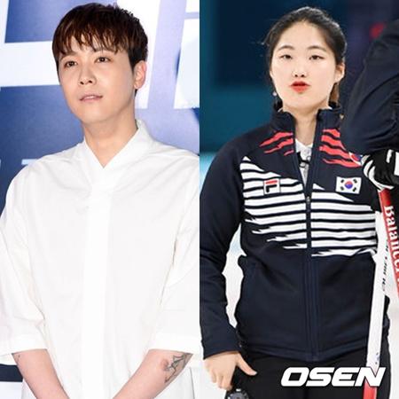 カーリング韓国代表選手のチャン・ヘジが、韓国バンド「FTISLAND」メンバーのイ・ホンギと会えることになった。(提供:OSEN)