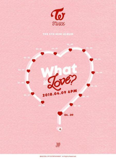 JYPエンターテインメントが25日0時、JYPと「TWICE」の公式SNSに「TWICE」の5thミニアルバム「What is Love? 」の「PROMOTION TIME TABLE」を掲載した。(提供:OSEN)