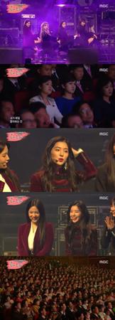 韓国ガールズグループ「Red Velvet」が、北朝鮮・平壌(ピョンヤン)で開催された南北合同公演のステージに上がった。(提供:OSEN)