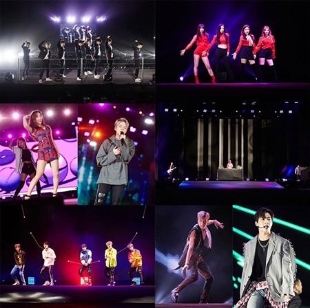 「東方神起」から「EXO」まで、ドバイでのSMTOWN LIVEで現地ファン1万5000人が熱狂! (提供:OSEN)