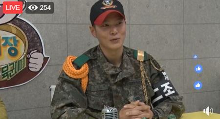 韓国第三歩兵師団(別名:白骨部隊)助教の俳優チュウォンが、訓練兵だったG-DRAGON(BIGBANG)について語った。(提供:OSEN)