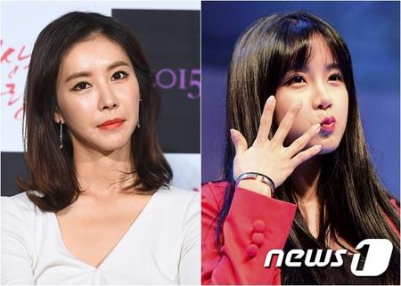韓国女優ハン・ウンジョンとガールズグループ「RAINBOW」出身の女優チョ・ヒョニョンが所属事務所代表が拘束起訴され、出演料の清算を受けられない被害を受けた。(提供:news1)