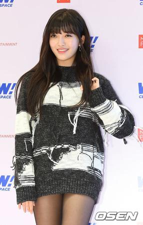 韓国ガールズグループ「AOA」メンバーのチャンミが、サバイバル番組「PRODUCE 48」への出演に関して自らコメントを発表した。(提供:OSEN)