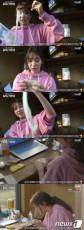 韓国女優パク・シネ(28)が、森の小さな家で一人遊びに没頭した。(提供:news1)