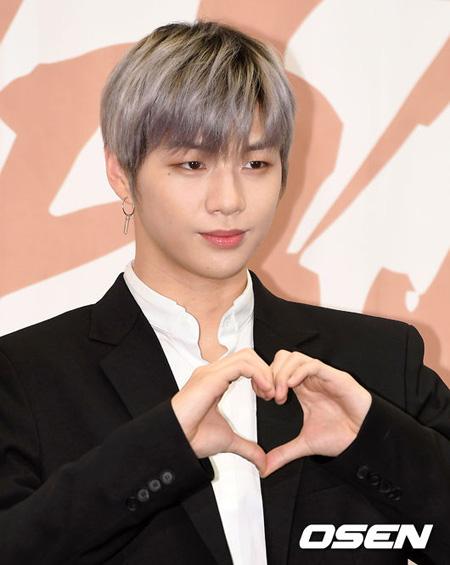 韓国アイドルグループ「Wanna One」のカン・ダニエルがご馳走してあげたい年下男スター1位に選ばれた。(提供:OSEN)