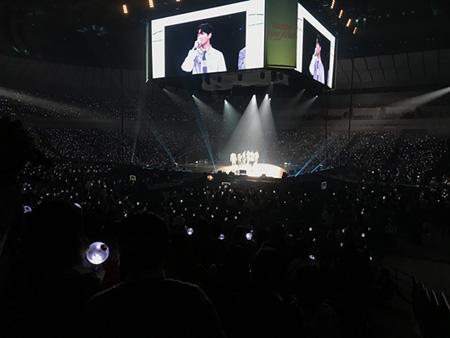 「防弾少年団」、日本公式ファンミーティングを成功裏に終了=9万人を動員(提供:OSEN)