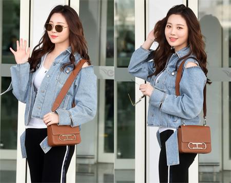「Girl's Day」ユラ、スタイリッシュな空港ファッションが話題(提供:news1)