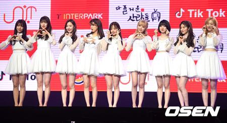 韓国アイドル再起プロジェクト「THE UNIT」から誕生したガールズグループ「UNI.T」が、予定していたVライブを取り消しにした。(提供:OSEN)