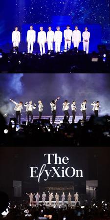 韓国ボーイズグループ「EXO」が、フィリピン・マニラでのコンサートを大盛況で終えた。(提供:OSEN)