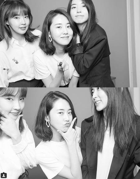 ホ・ガユンがチョン・ジユン、クォン・ソヒョンと一緒に過ごした近況を公開した。(提供:OSEN)