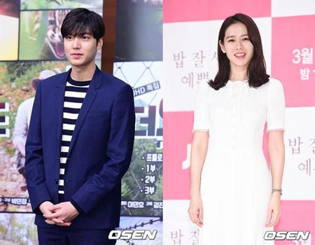 韓国俳優イ・ミンホ(30)が、女優ソン・イェジン(36)にコーヒーと間食を送ってドラマを応援した。(提供:OSEN)