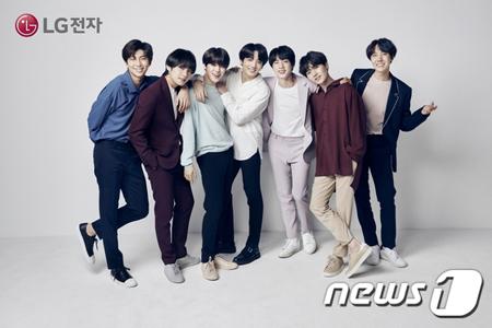 韓国LG電子MC事業本部が、12四半期連続赤字から抜け出すために広告モデルに「防弾少年団」を選んだ。(提供:news1)