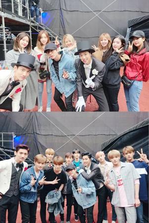「東方神起」の自国コンサートに事務所仲間が大集合! 「少女時代」「Red Velvet」「SJ」「NCT」が応援に(提供:OSEN)