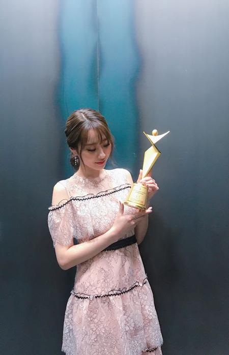 【公式】「NINE MUSES」キョンリ、「アジアモデルアワード」ファッショニスタ賞を受賞(提供:OSEN)
