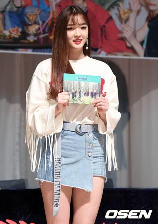 韓国ガールズグループ「DIA」メンバーのウンジンが、グループ脱退を決めた。(提供:OSEN)