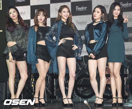 韓国ガールズグループ「FIESTAR」が解散を公式発表した。(提供:OSEN)