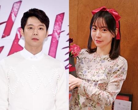 韓国ボーイズグループ「JYJ」メンバーのユチョン(31)と1年間の交際をしてきたファン・ハナさんが破局を認めた。(提供:OSEN)