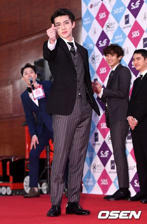 「EXO」SEHUNのファンクラブ、疎外階層に米11トン寄付=歴代最大規模(画像:OSEN)
