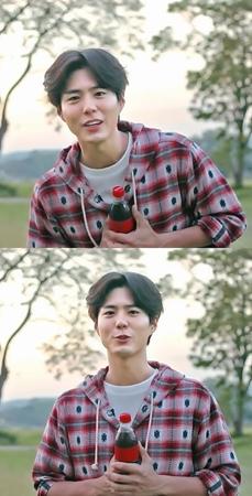 韓国俳優パク・ボゴム(24)が、ボーイズグループ「防弾少年団」を応援した。(提供:news1)