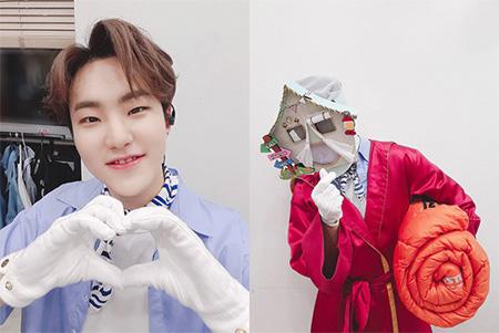 韓国アイドルグループ「SEVENTEEN」ホシ(HOSHI)がMBCバラエティ「覆面歌王」に出演した心境を伝えた。(提供:news1)